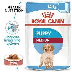 Kapsička Royal Canin Medium Puppy 140 g