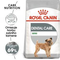 ROYAL CANIN Mini Dental Care granule pro psy snižující tvorbu zubního kamene 8 kg