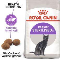 Royal Canin Sterilised 37 - pro kastrované kočky, 2 kg