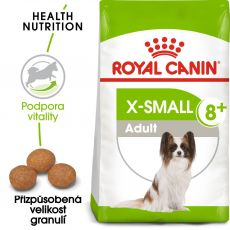 ROYAL CANIN X-SMALL ADULT 8+, 1,5 kg