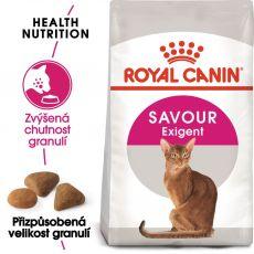 Royal Canin Savour EXIGENT - krmivo pro vybíravé kočky, 2 kg